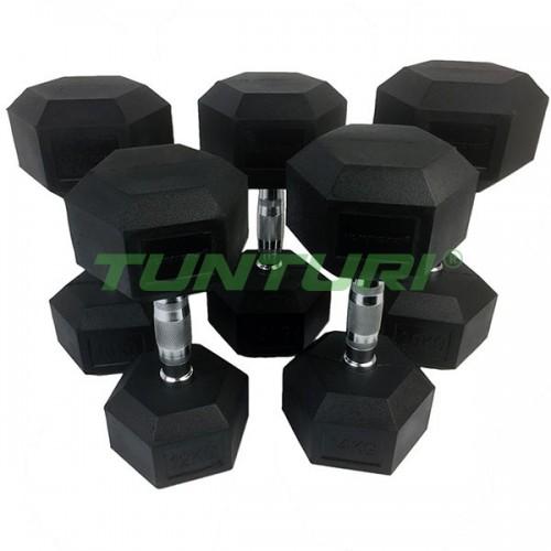 Гантельный ряд Tunturi 6 пар (10-20 кг), код: 14TUSCL181