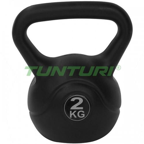 Гиря Tunturi 2 кг, код: 14TUSCL102