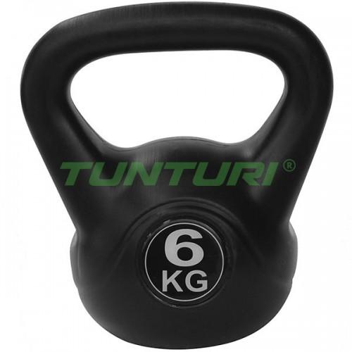 Гиря Tunturi 6 кг, код: 14TUSCL104