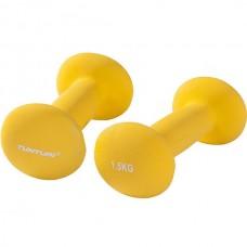 Гантели для фитнесса Tunturi неопрен 2х1,5 кг, код: 14TUSCL375