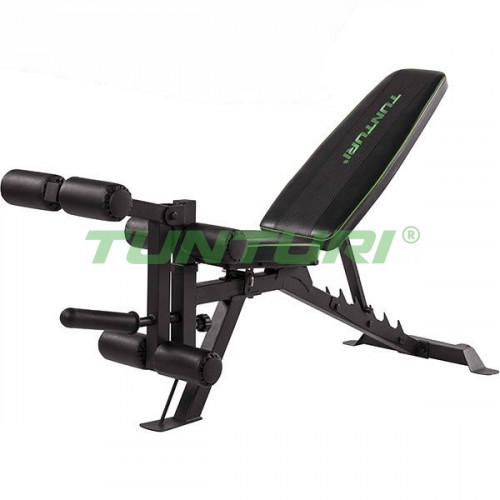 Скамья регулируемая Tunturi Utility Bench UB60, код: 17TSUB6000