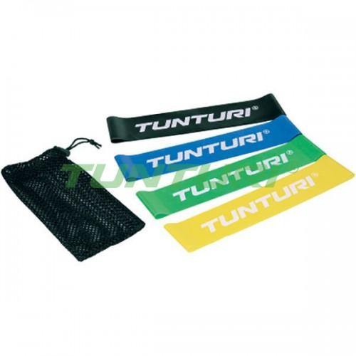 Набор эластичных лент для йоги и пилатеса Tunturi, код: 14TUSYO016