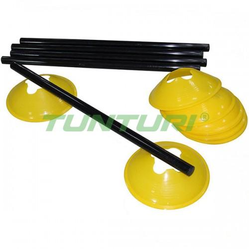 Тренировочные фишки Tunturi 5 шт, код: 14TUSTE146