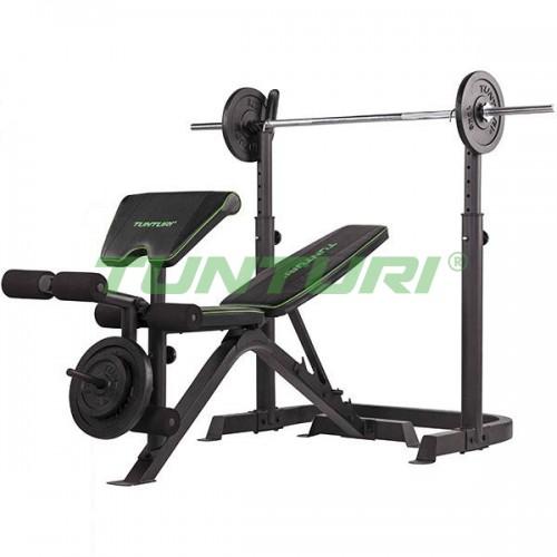 Скамья для жима Tunturi Weight Bench WB50, код: 17TSWB5000
