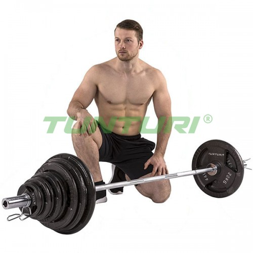 Штанга Tunturi 100 кг, код: 14TUSCL381