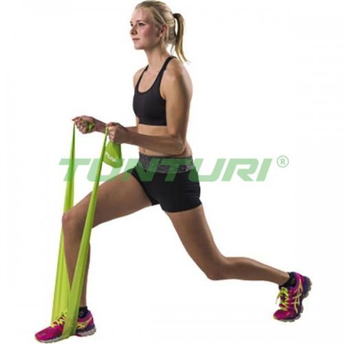Эластичная лента для йоги и пилатеса Tunturi Medium, код: 14TUSFU138
