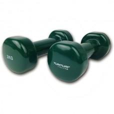 Гантели для фитнесса Tunturi винил 2х2 кг, код: 14TUSFU110
