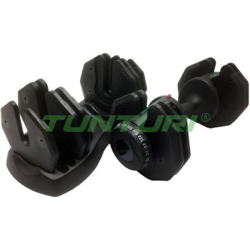 Гантели со стойкой Tunturi Selector Dumbbells 2x25 кг, код: 14TUSCL383-384