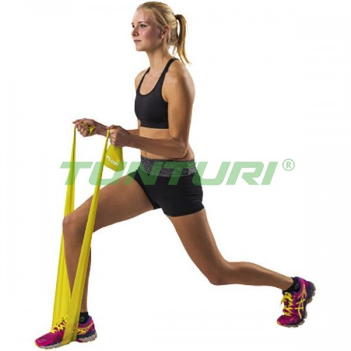 Эластичная лента для йоги и пилатеса Tunturi Light, код: 14TUSFU137