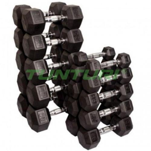 Гантельный ряд Tunturi 1-10 кг (10 пар) , код: 14TUSCL180