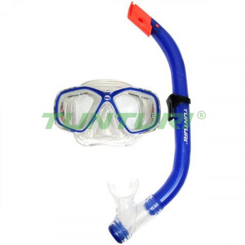 Набор для дайвинга Tunturi Snorkel Set Junior, код: 14TUSSW087