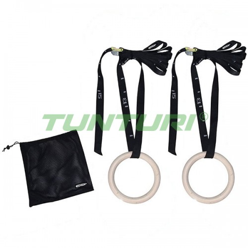 Кольца для кроссфита Tunturi 230 мм, код: 14TUSCF082